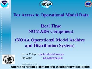Real-Time NOMADS is a service for science, development and public access.