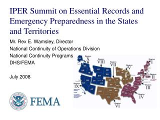 The Main Functions of the DHS and the FEMA Essay Sample