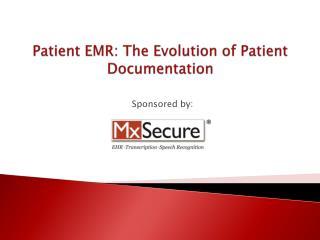 Patient EMR - MxSecure