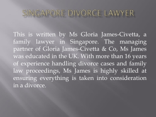 Get Good Lawyers for Judicial Separation in Singapore