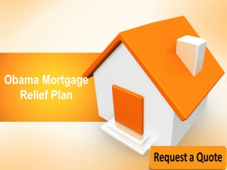 Obama Mortgage Relief Plan 2013