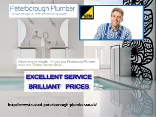 plumbers in peterborough