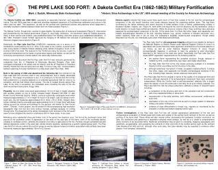Pipe Lake Sod Fort