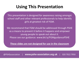 female genital mutilation fgm powerpoint