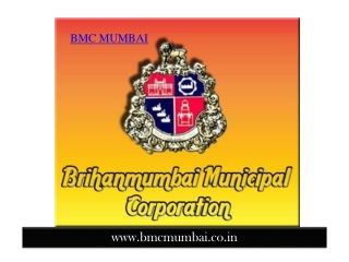 BMC Mumbai recruitment