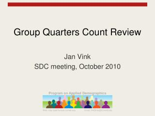 group quarters count review