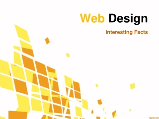 Web Design - Interesting Facts