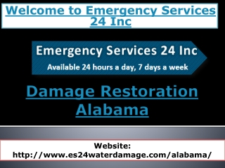Damage Restoration Alabama