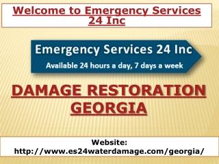 Damage Restoration Georgia