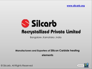 SIC Heating Elements Manufacturer in India