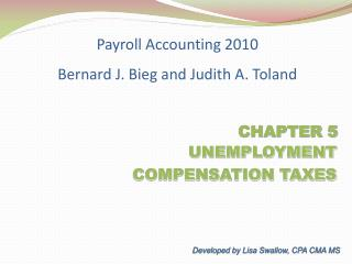 UNEMPLOYMENT      COMPENSATION TAXES
