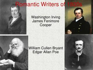 Romantic Writers of 1800s