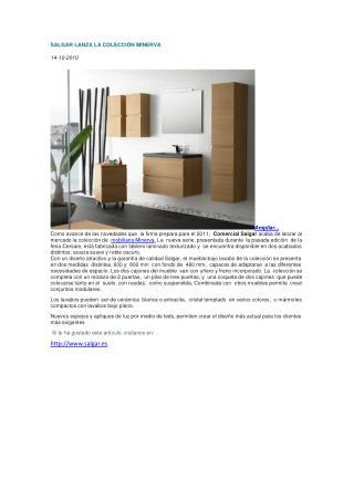 coleccion minerva, muebles baño