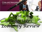 Cruse and Associates Economy Review: Hong Kong shares end 2.