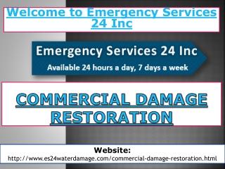 Commercial Damage Restoration