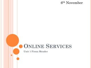 BTEC-Online Services