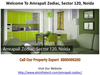 Welcome To Amrapali Zodiac Sector 120 Noida