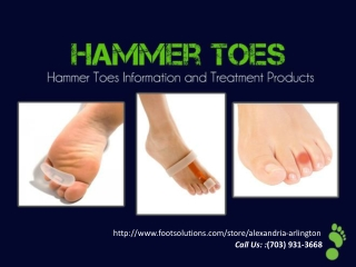 Hammer Toes Information And Treatments