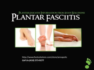 Plantar Fasciitis Information & Treatment