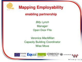 Mapping Employability  enabling partnership