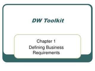 DW Toolkit