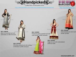 Anarkali Salwar Kameez Online At Barcode91