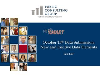 October 15th Data Submission: New and Inactive Data Elements   Fall 2007