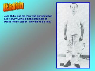 JFK: Jack Ruby