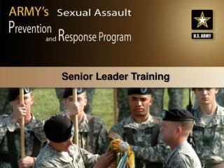 Senior Leader Training