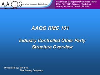 AAQG RMC 101