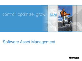 Why Implement a  Software Asset Management Plan