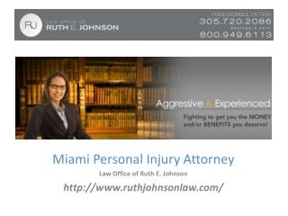 Auto Accident Attorneys Miami