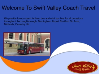 Luxury Coach Hire in Leicester