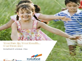 Health Insurance Plans-India First Life