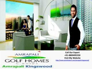 Amrapali Kingswood Fully Furnished Apart@8800495551