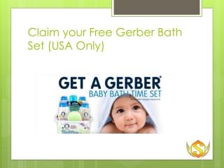Free Bath Set