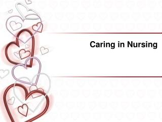 Caring in Nursing
