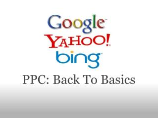 ppc: back to basics
