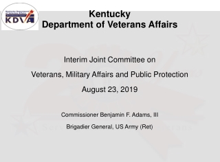 U.S. Department of Veterans Affairs Veterans Benefits ...