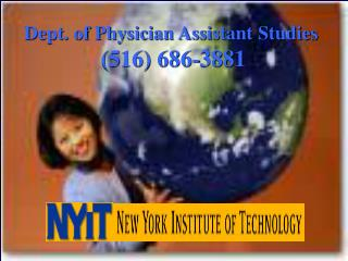 Dept. of Physician Assistant Studies  516 686-3881