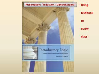 Induction  Informal Fallacies