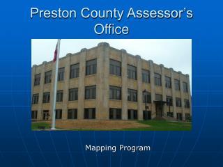 Preston County Assessor s Office