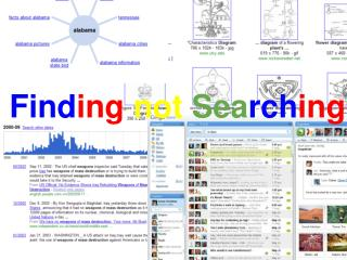 finding not searching and other secrets--intro