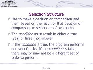 Selection Structure