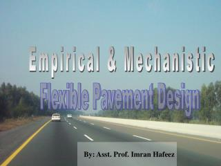 By: Asst. Prof. Imran Hafeez