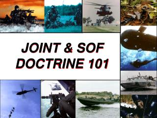 JOINT  SOF DOCTRINE 101