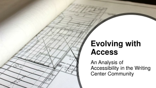 Accessibility : Assisting the  Print Disabled Community