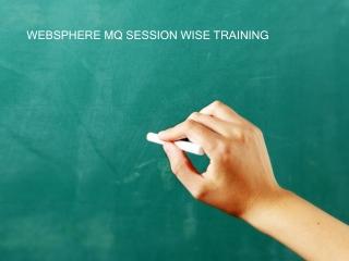 Websphere MQ training