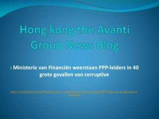 Hong kong the Avanti Group News Blog