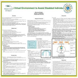 Virtual Environment to Assist Disabled ... - Wright State University
